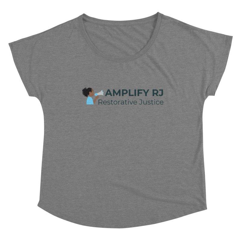 OG ARJ Logo (Dark) Women's Scoop Neck by amplifyrj's Artist Shop