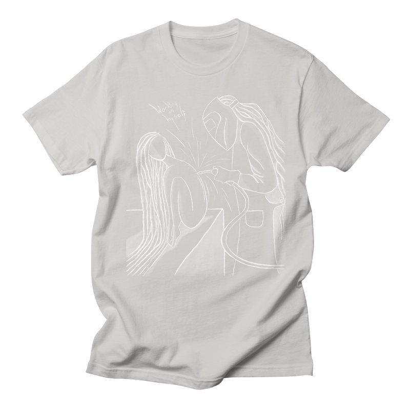 """Working on Myself"" (White) Men's T-Shirt by amplifyrj's Artist Shop"