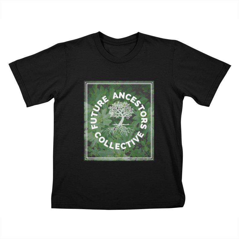 Future Ancestors Collective Kids T-Shirt by amplifyrj's Artist Shop