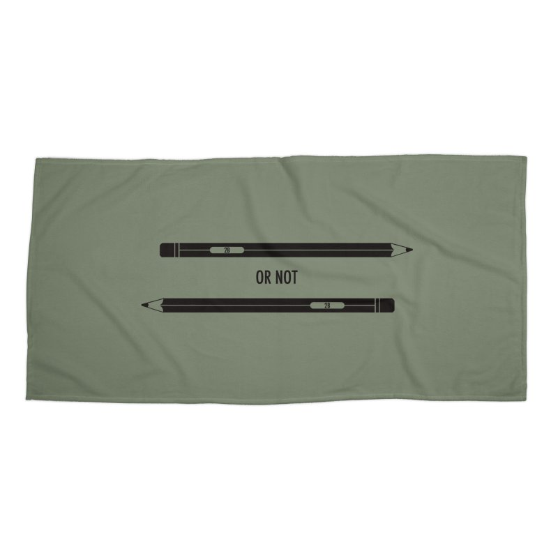 2B or not 2B Accessories Beach Towel by Amu Designs Artist Shop