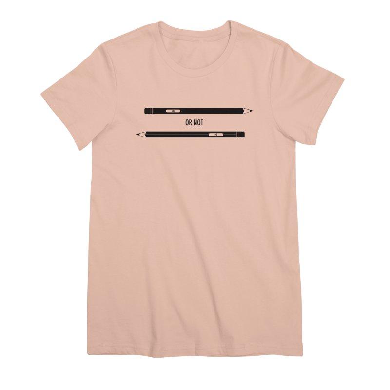2B or not 2B Women's Premium T-Shirt by Amu Designs Artist Shop