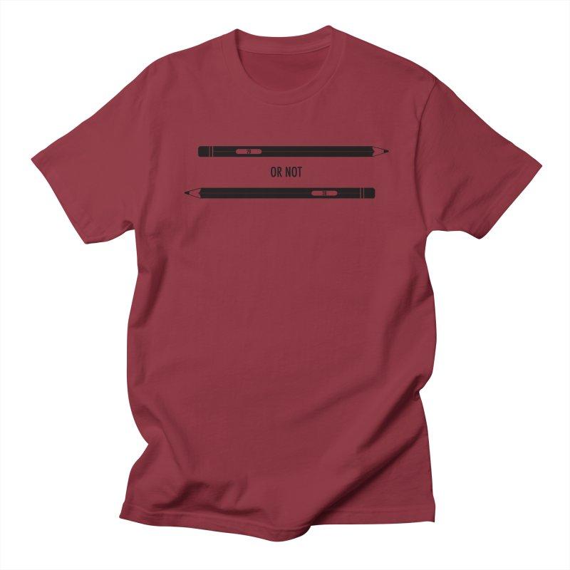 2B or not 2B Men's Regular T-Shirt by Amu Designs Artist Shop