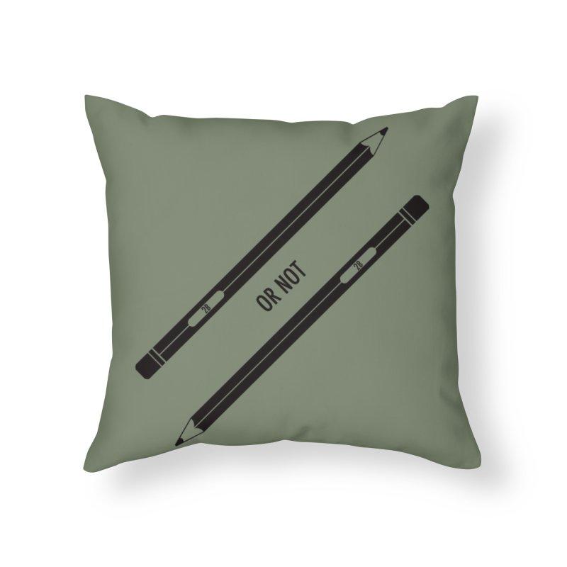 2B or not 2B Home Throw Pillow by Amu Designs Artist Shop
