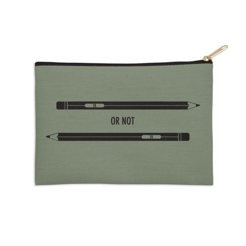 2B or not 2B Accessories Zip Pouch by Amu Designs Artist Shop