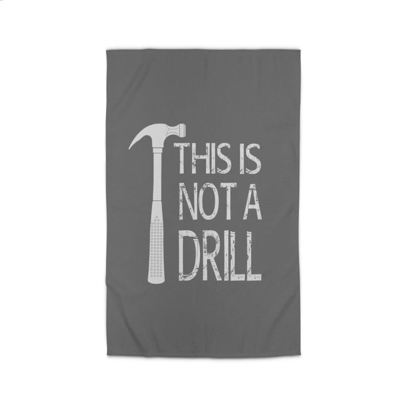 This is not a drill Home Rug by Amu Designs Artist Shop