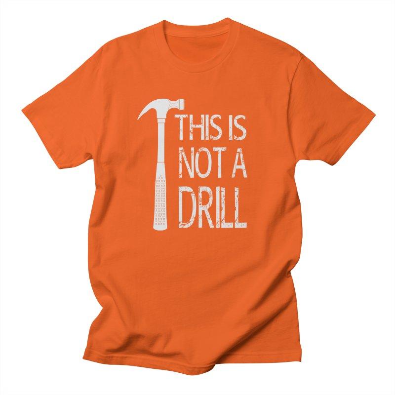 This is not a drill Men's Regular T-Shirt by Amu Designs Artist Shop