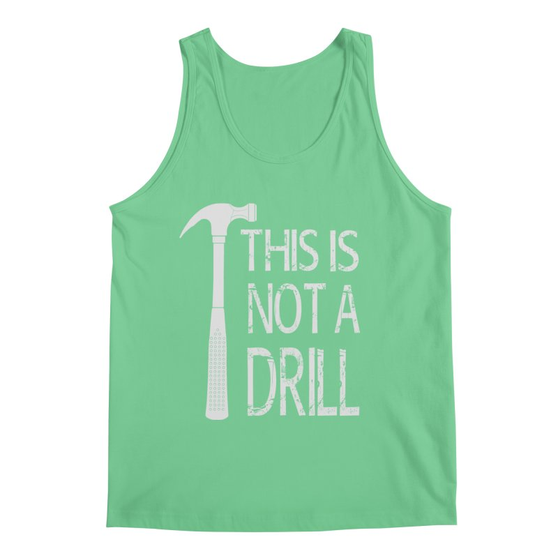 This is not a drill Men's Regular Tank by Amu Designs Artist Shop