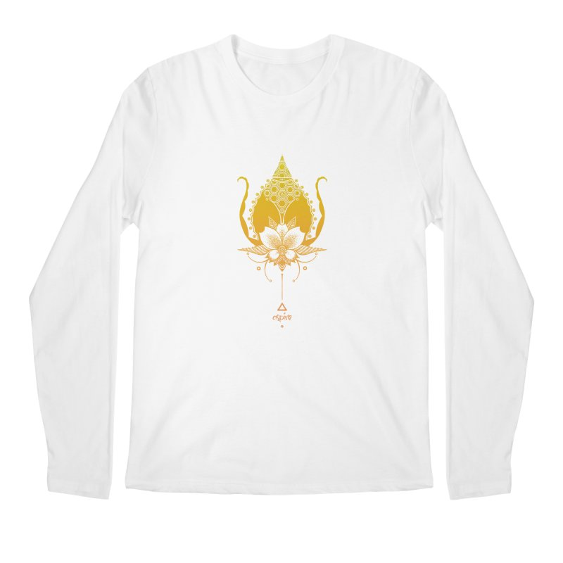 Aspire Men's Regular Longsleeve T-Shirt by Amu Designs Artist Shop