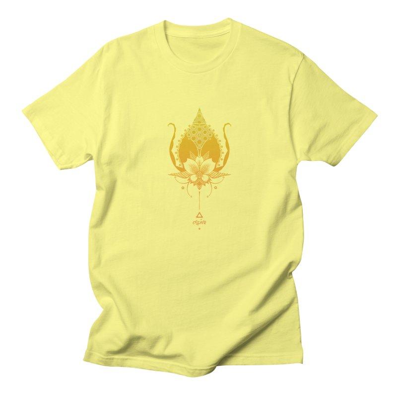 Aspire Women's Regular Unisex T-Shirt by Amu Designs Artist Shop