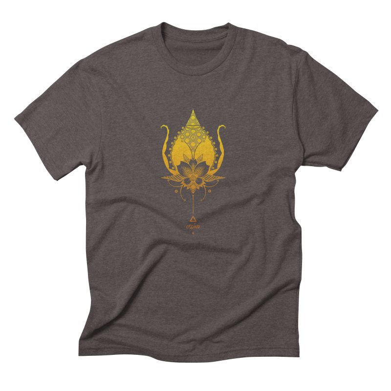 Aspire Men's Triblend T-Shirt by Amu Designs Artist Shop