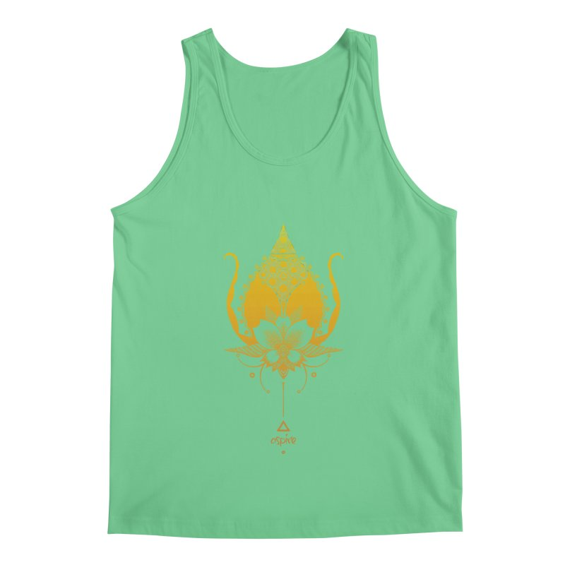 Aspire Men's Regular Tank by Amu Designs Artist Shop