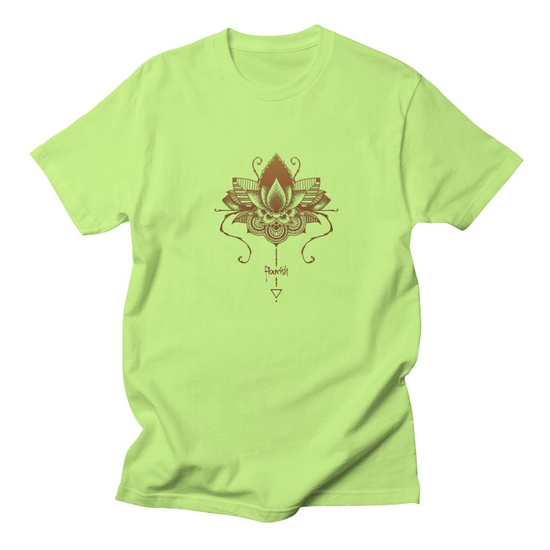 Flourish Men's T-Shirt by Amu Designs Artist Shop