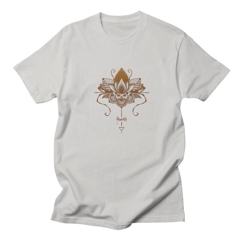 Flourish Women's Regular Unisex T-Shirt by Amu Designs Artist Shop