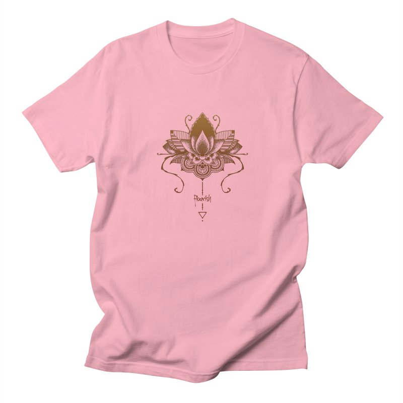Flourish Men's T-Shirt by Amu Designs Artist Shop