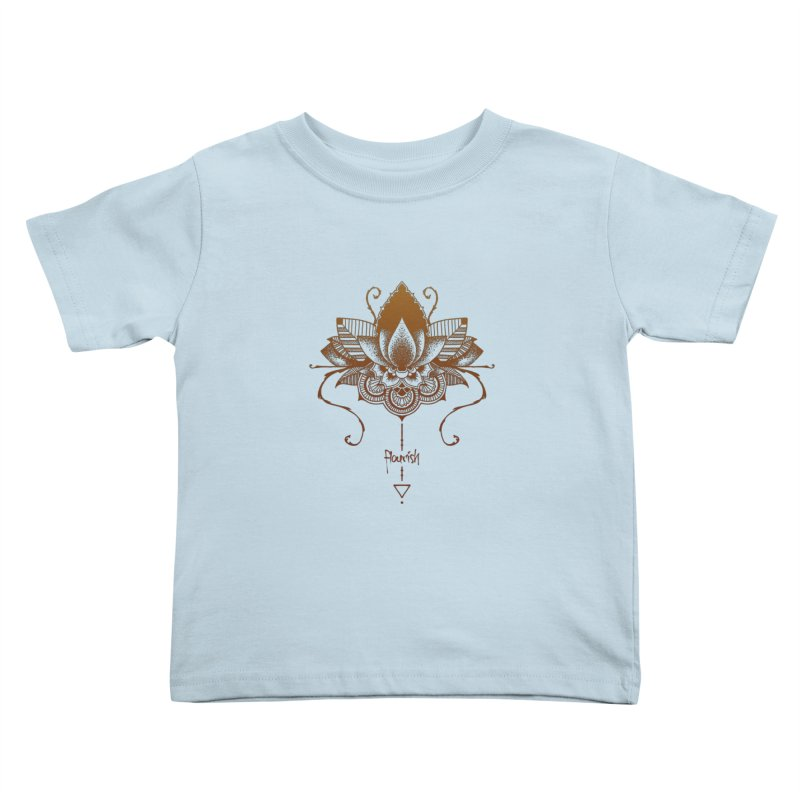 Flourish Kids Toddler T-Shirt by Amu Designs Artist Shop