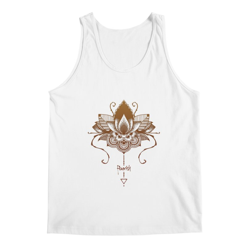 Flourish Men's Regular Tank by Amu Designs Artist Shop