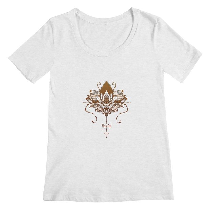 Flourish Women's Scoop Neck by Amu Designs Artist Shop