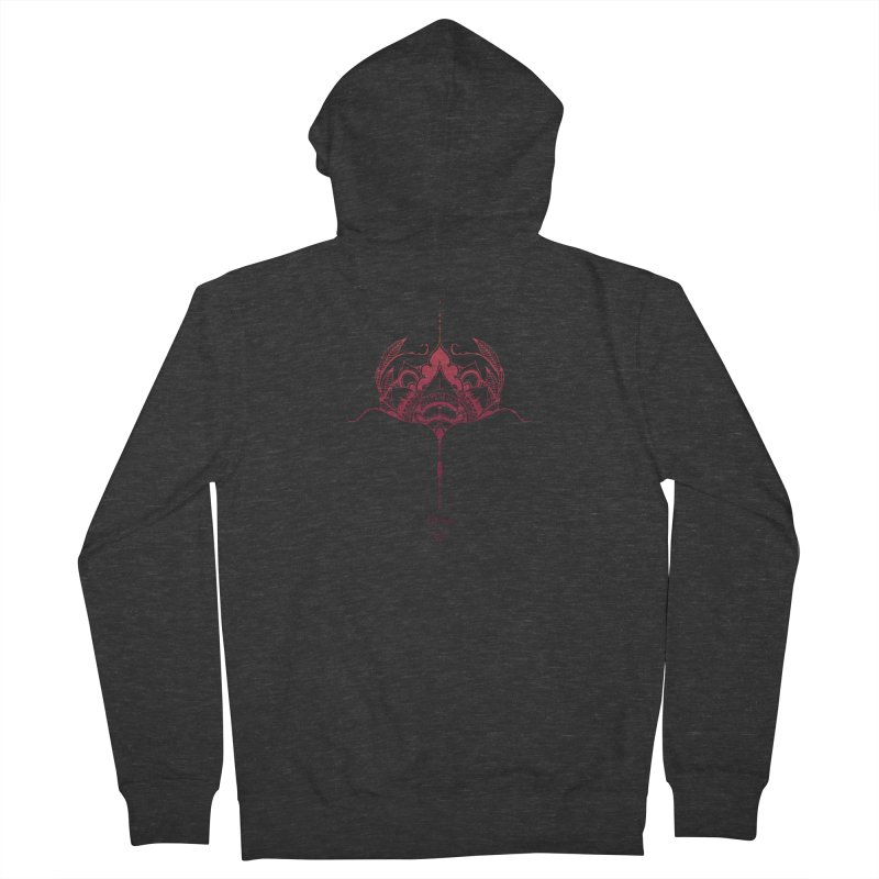 Thrive Men's French Terry Zip-Up Hoody by Amu Designs Artist Shop