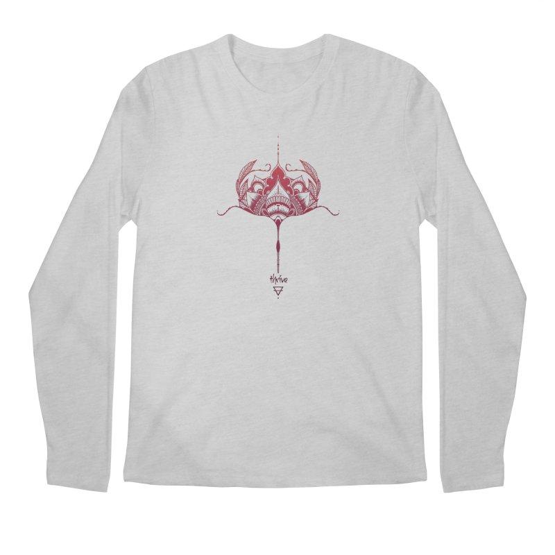 Thrive Men's Regular Longsleeve T-Shirt by Amu Designs Artist Shop
