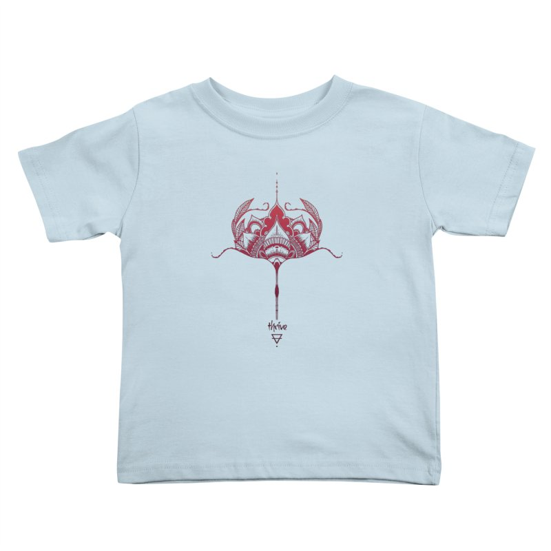 Thrive Kids Toddler T-Shirt by Amu Designs Artist Shop