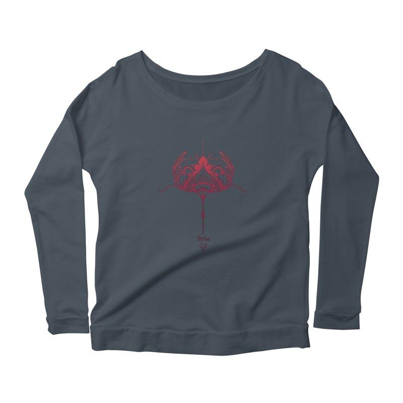 Thrive Women's Scoop Neck Longsleeve T-Shirt by Amu Designs Artist Shop