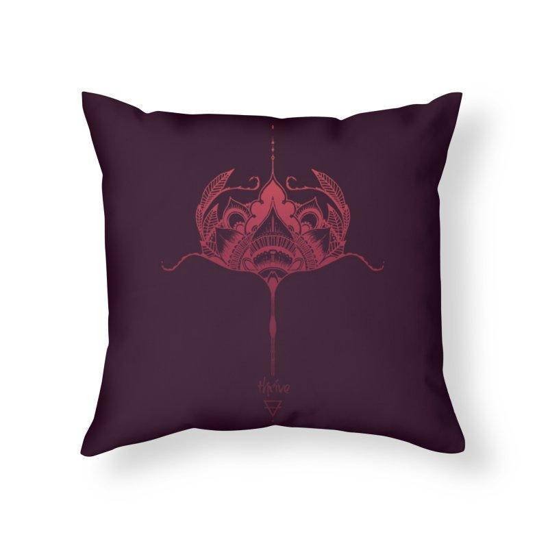 Thrive Home Throw Pillow by Amu Designs Artist Shop