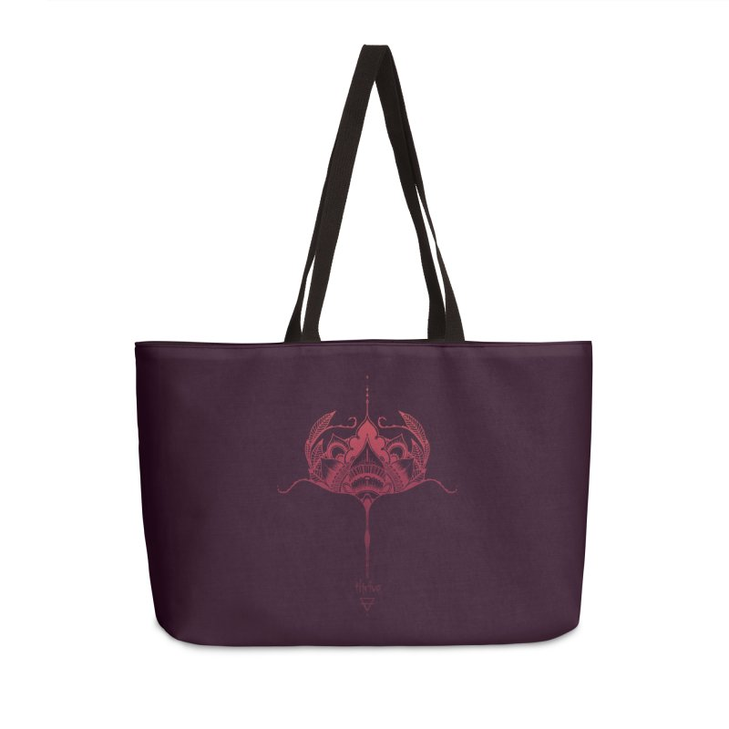 Thrive Accessories Weekender Bag Bag by Amu Designs Artist Shop