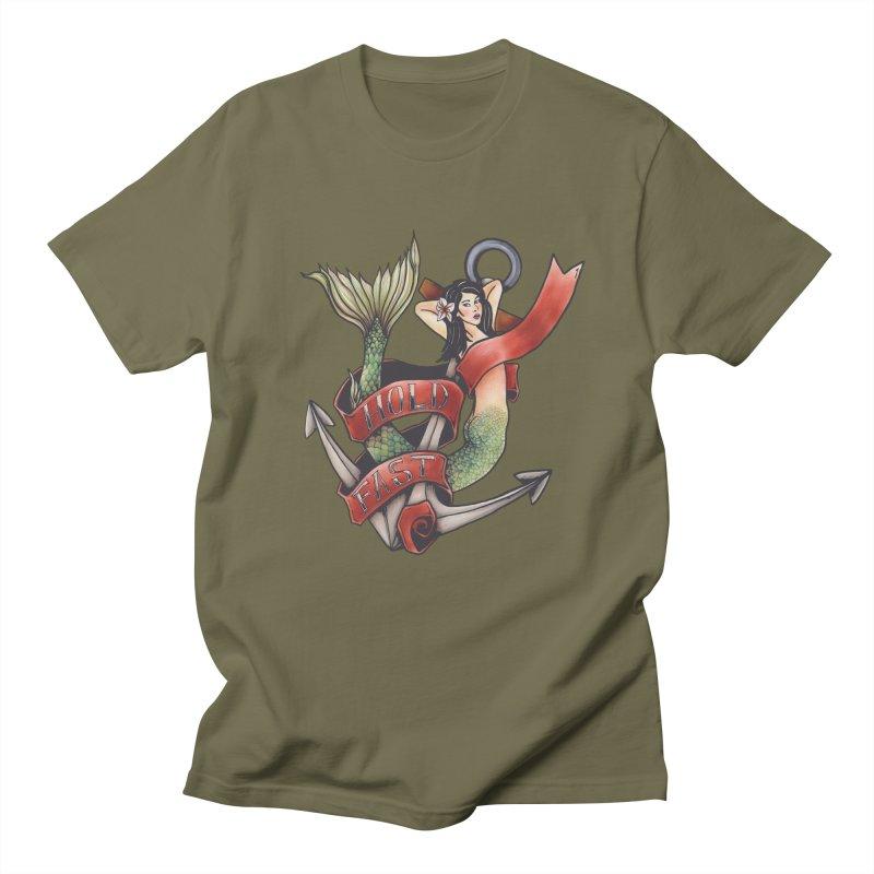 Hold Fast Men's T-Shirt by Amu Designs Artist Shop