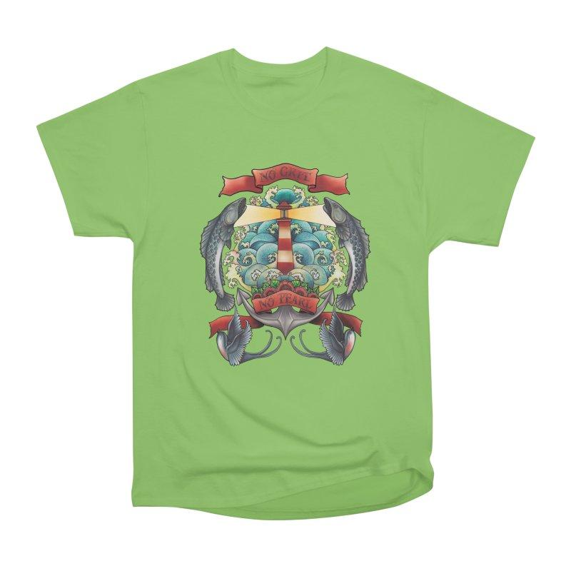 No Grit No Pearl Women's Heavyweight Unisex T-Shirt by Amu Designs Artist Shop