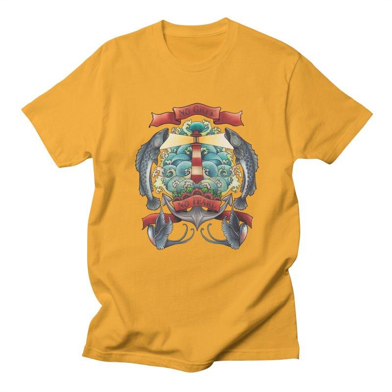 No Grit No Pearl Men's T-Shirt by Amu Designs Artist Shop