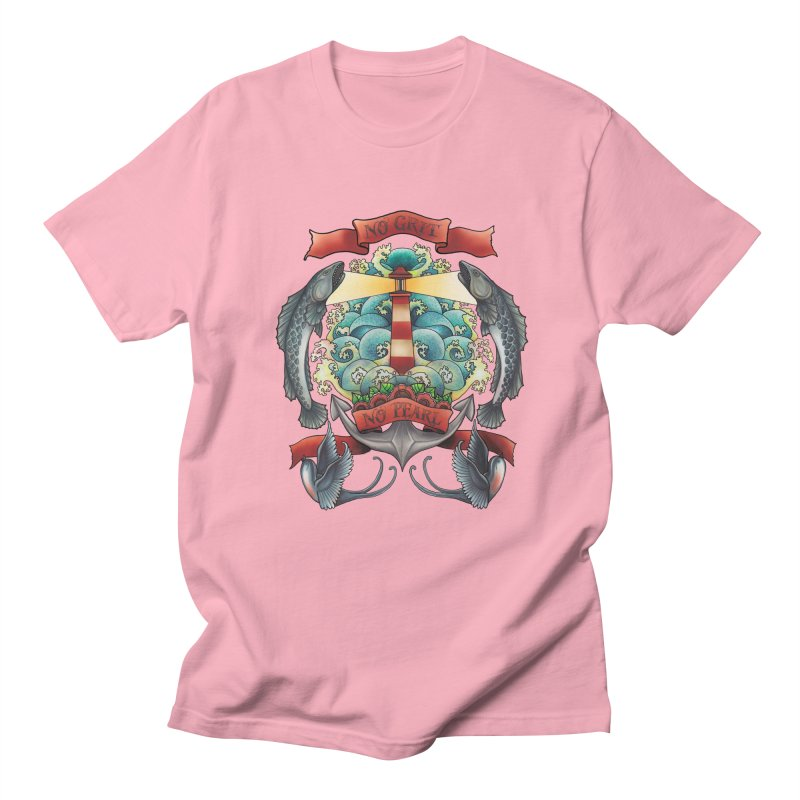 No Grit No Pearl Men's Regular T-Shirt by Amu Designs Artist Shop