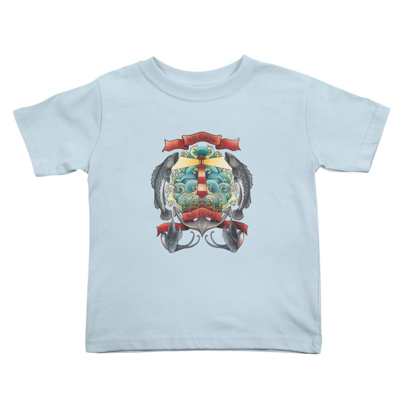 No Grit No Pearl Kids Toddler T-Shirt by Amu Designs Artist Shop