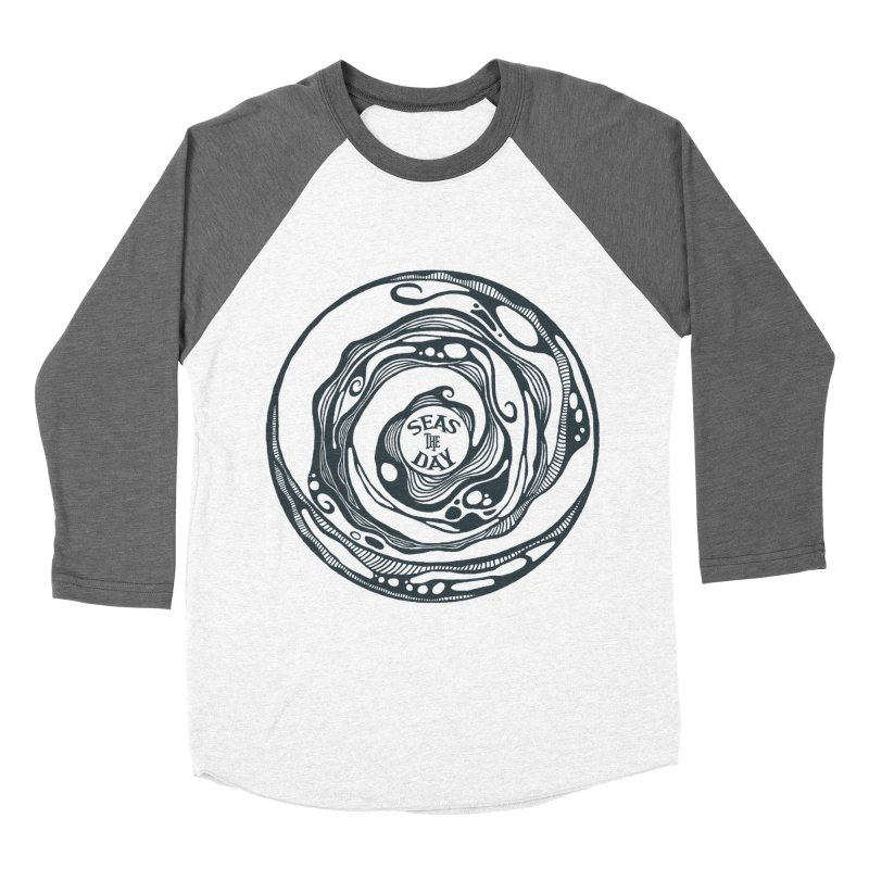 Seas The Day Teal Women's Longsleeve T-Shirt by Amu Designs Artist Shop