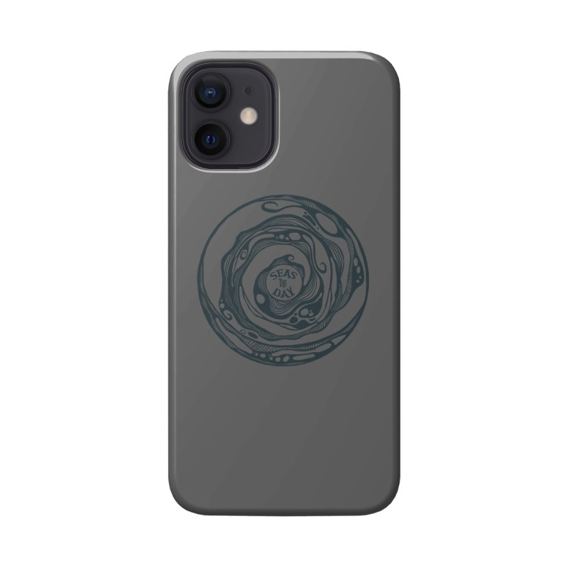 Seas The Day Teal Accessories Phone Case by Amu Designs Artist Shop