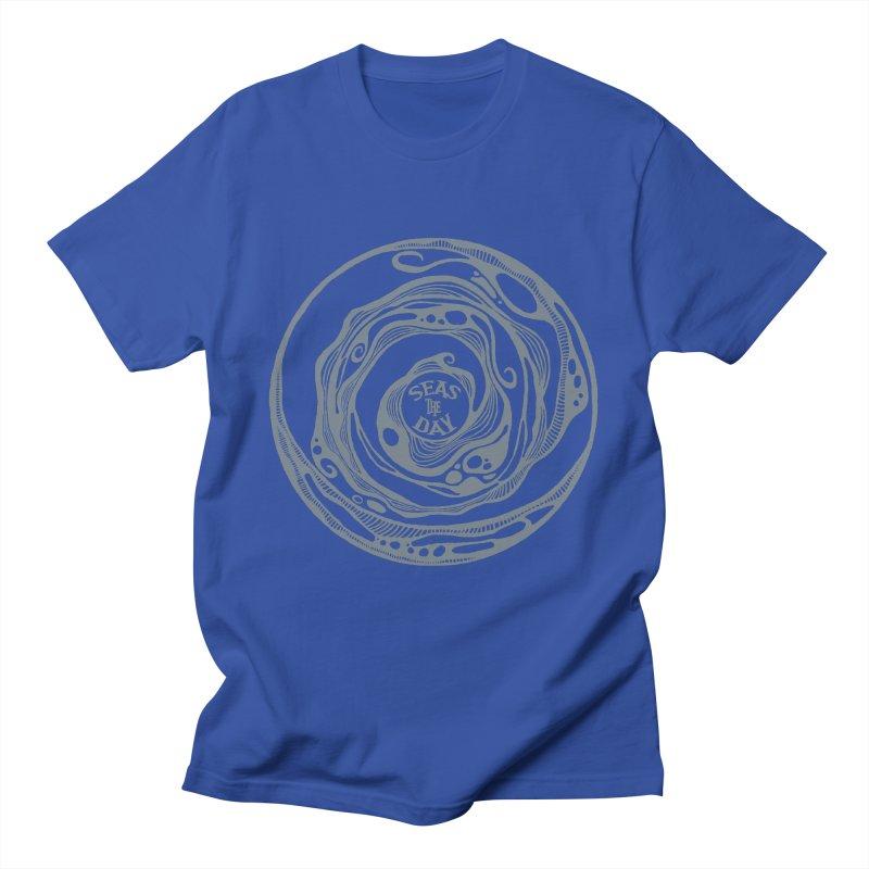 Seas The Day Light Grey Women's T-Shirt by Amu Designs Artist Shop