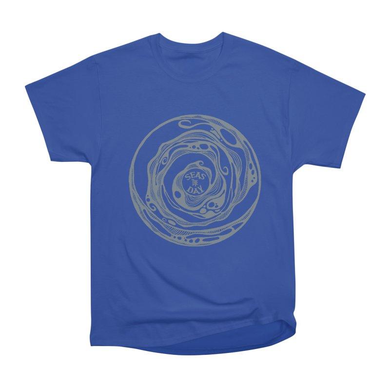 Seas The Day Light Grey Women's Heavyweight Unisex T-Shirt by Amu Designs Artist Shop