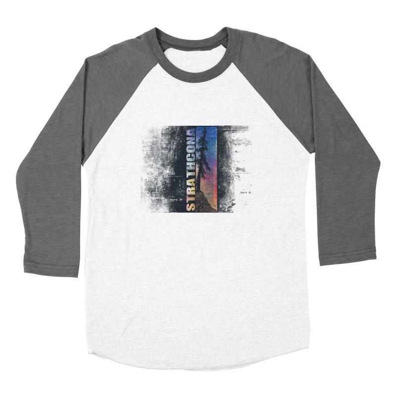 Strathcona Men's Baseball Triblend Longsleeve T-Shirt by Amu Designs Artist Shop