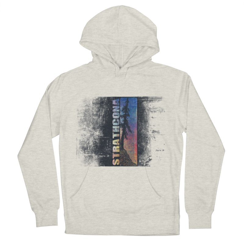 Strathcona Women's French Terry Pullover Hoody by Amu Designs Artist Shop
