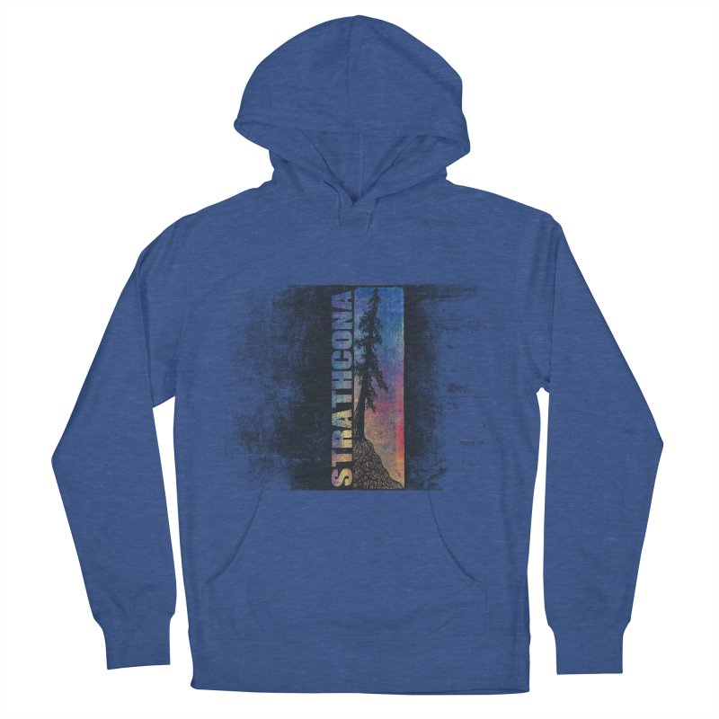 Strathcona Men's French Terry Pullover Hoody by Amu Designs Artist Shop