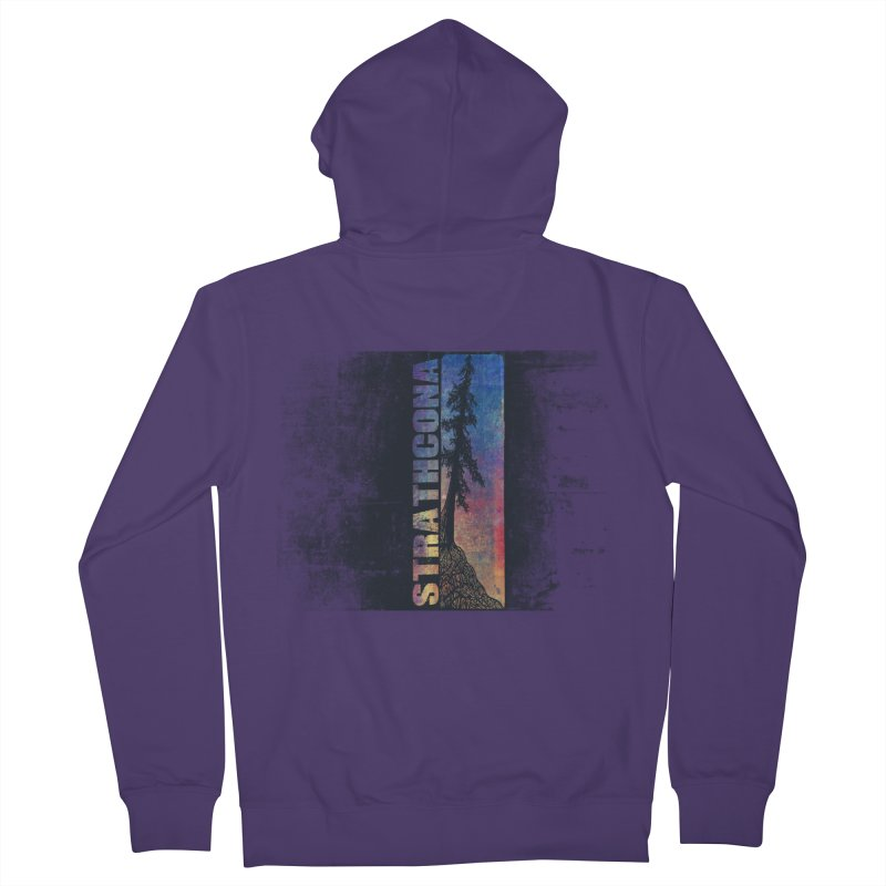 Strathcona Women's French Terry Zip-Up Hoody by Amu Designs Artist Shop