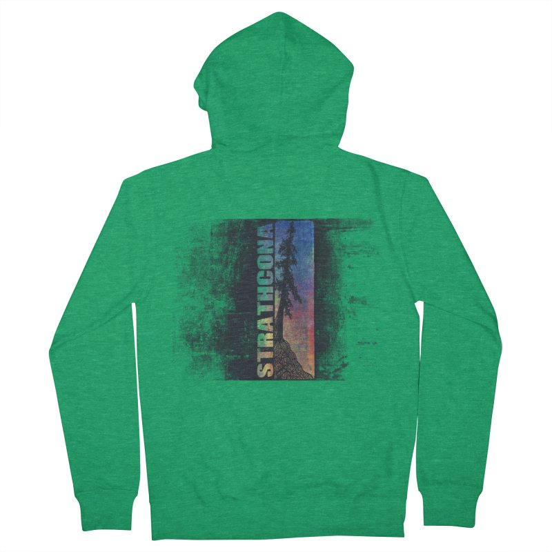 Strathcona Men's French Terry Zip-Up Hoody by Amu Designs Artist Shop