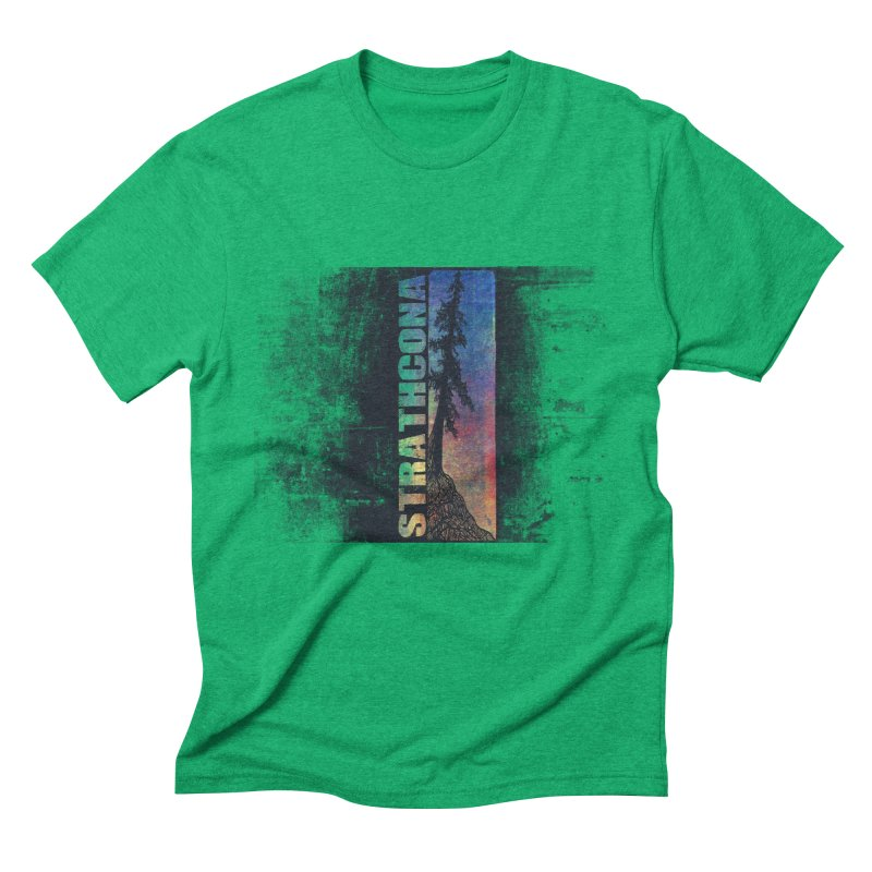 Strathcona Men's Triblend T-Shirt by Amu Designs Artist Shop