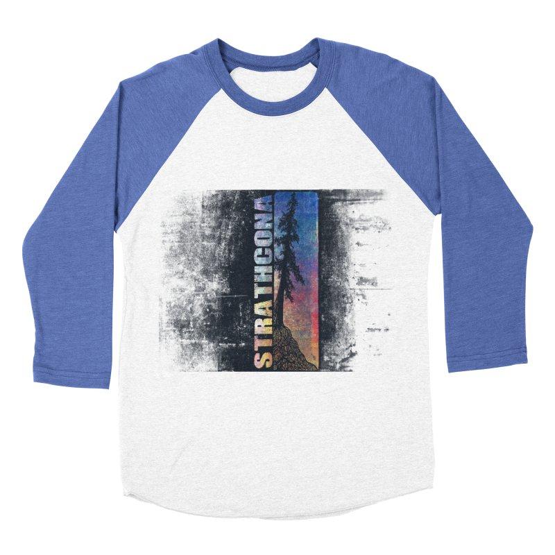 Strathcona Women's Baseball Triblend Longsleeve T-Shirt by Amu Designs Artist Shop