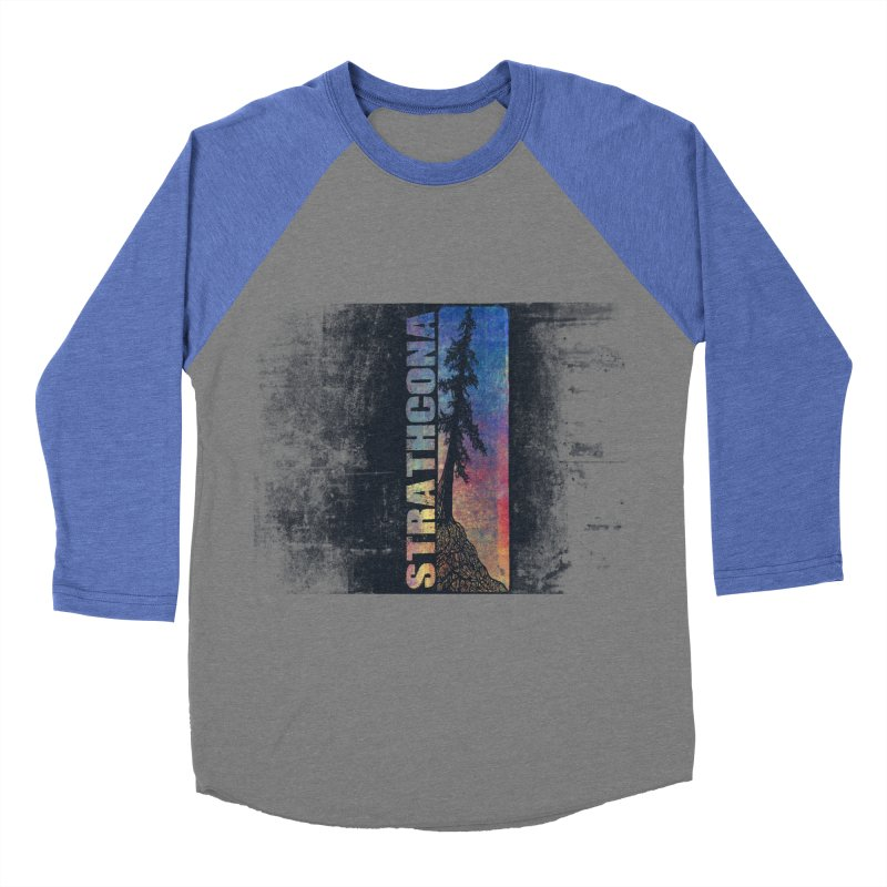Strathcona Men's Baseball Triblend Longsleeve T-Shirt by Amu Designs Artist Shop