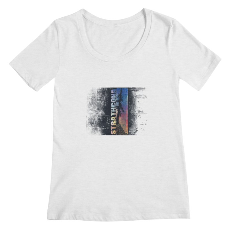 Strathcona Women's Regular Scoop Neck by Amu Designs Artist Shop