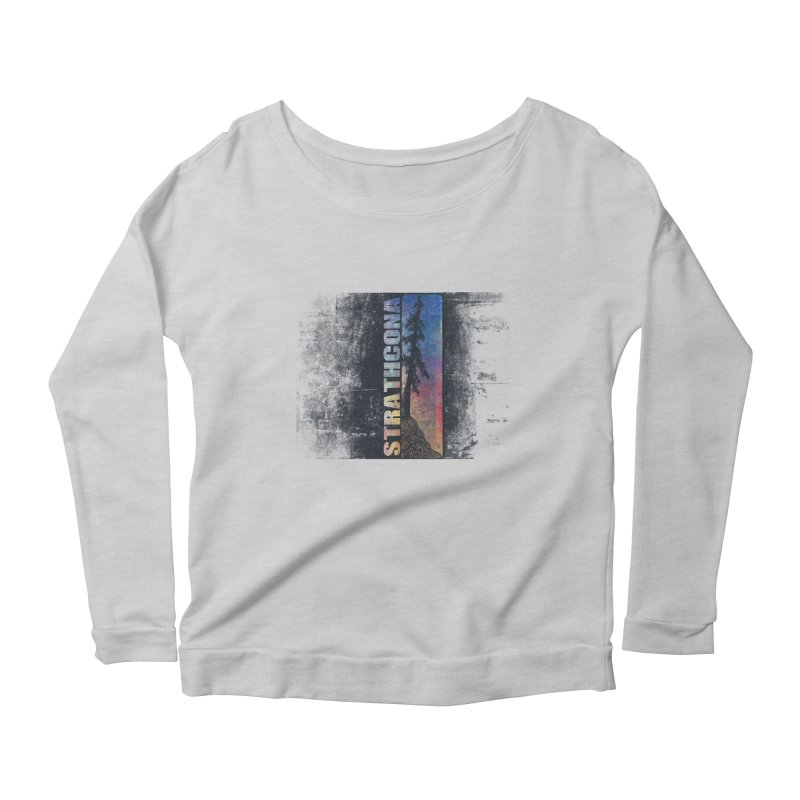 Strathcona Women's Scoop Neck Longsleeve T-Shirt by Amu Designs Artist Shop