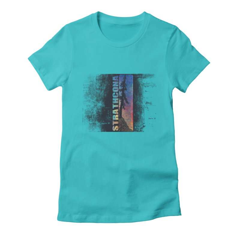 Strathcona Women's Fitted T-Shirt by Amu Designs Artist Shop