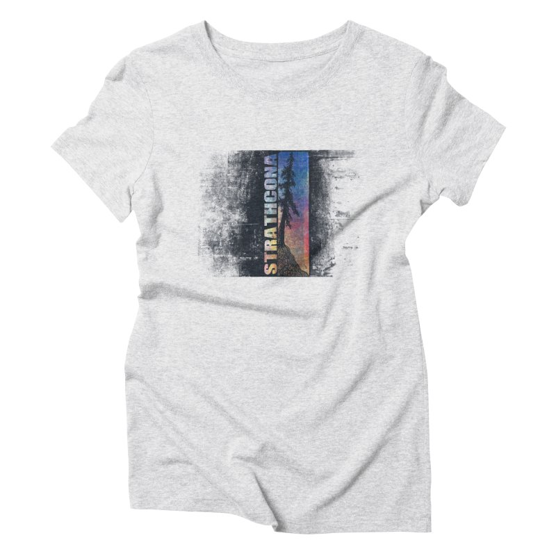 Strathcona Women's Triblend T-Shirt by Amu Designs Artist Shop