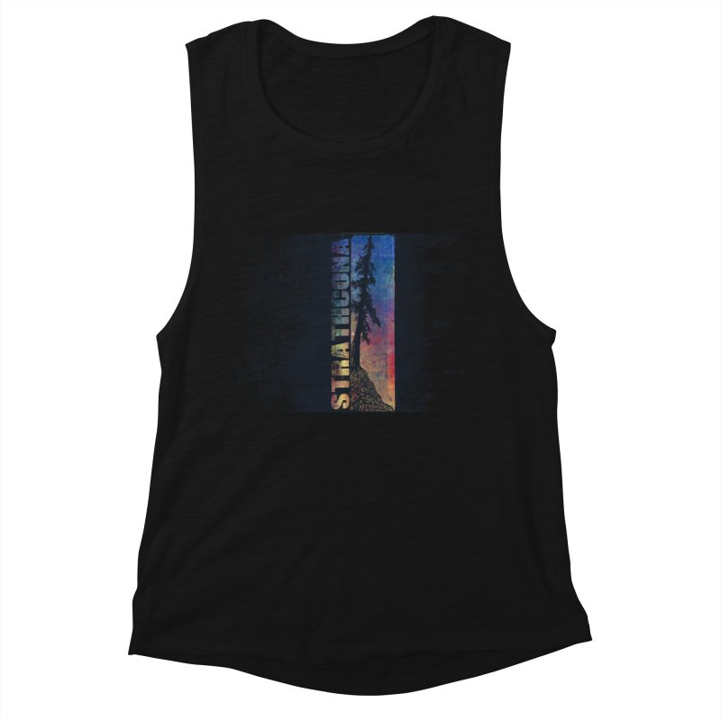 Strathcona Women's Muscle Tank by Amu Designs Artist Shop