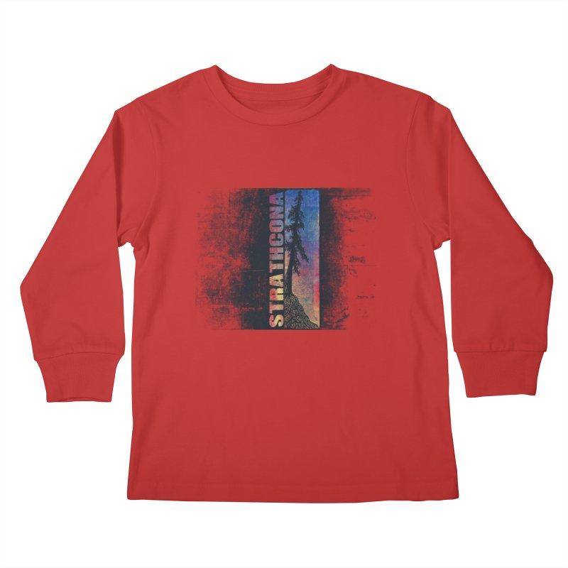 Strathcona Kids Longsleeve T-Shirt by Amu Designs Artist Shop